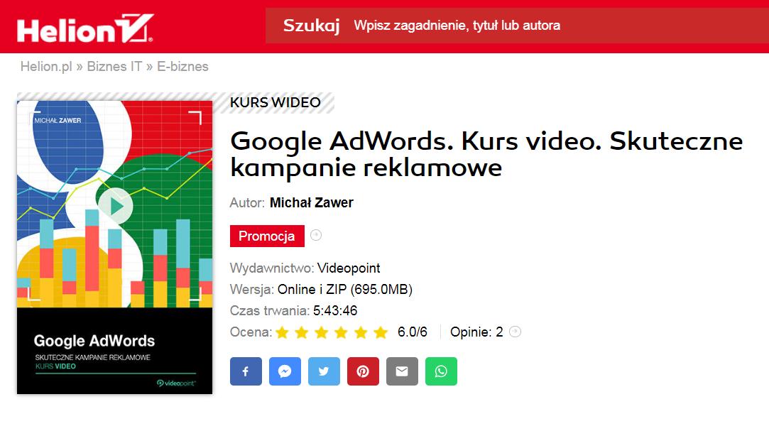 kurs video google ads
