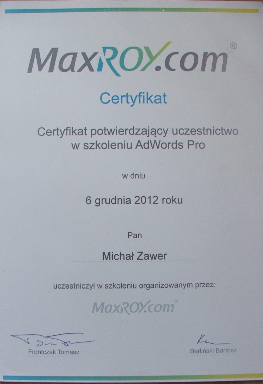 google ads maxroy.com
